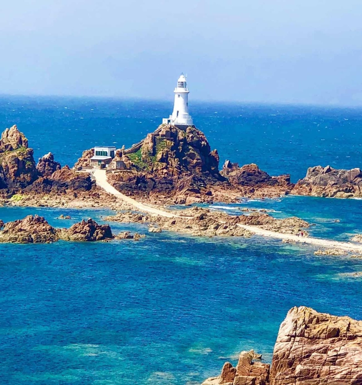 Jersey Lighthouse by Kerry Life and Loves