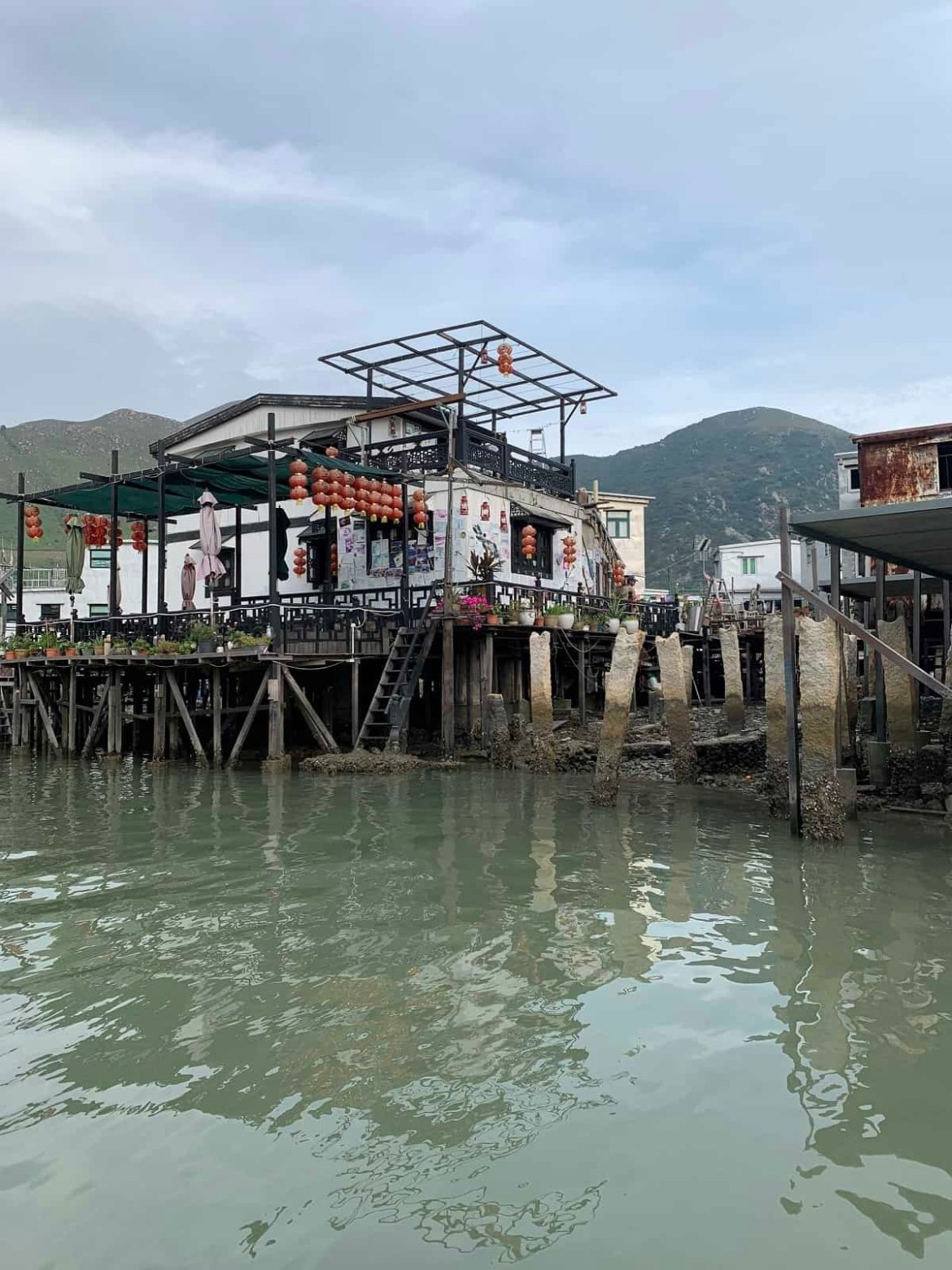 Tai O fishing village in Lantau