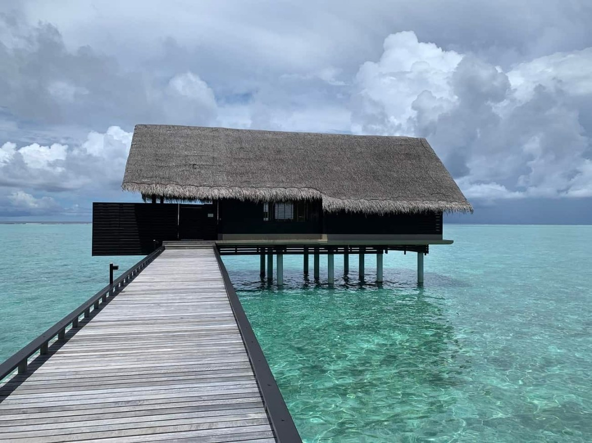 Our water villa at Reethi Rah Maldives