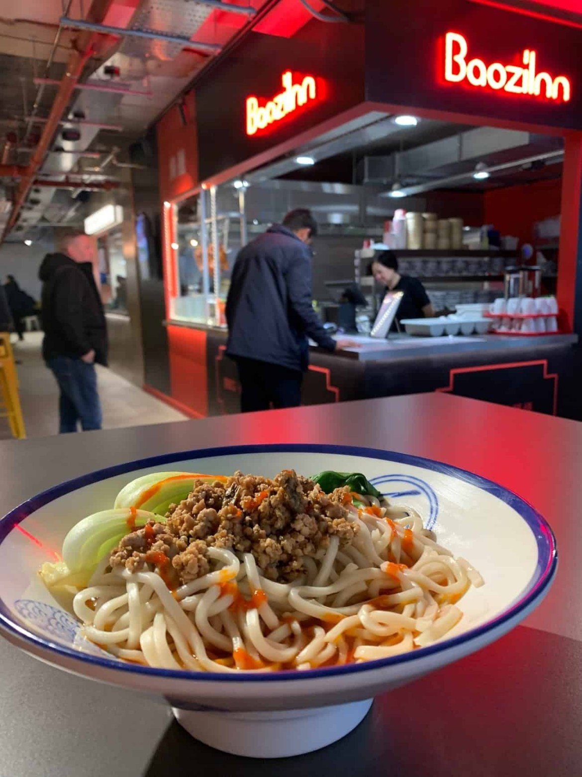 Dan Dan noodles from Baozilnn