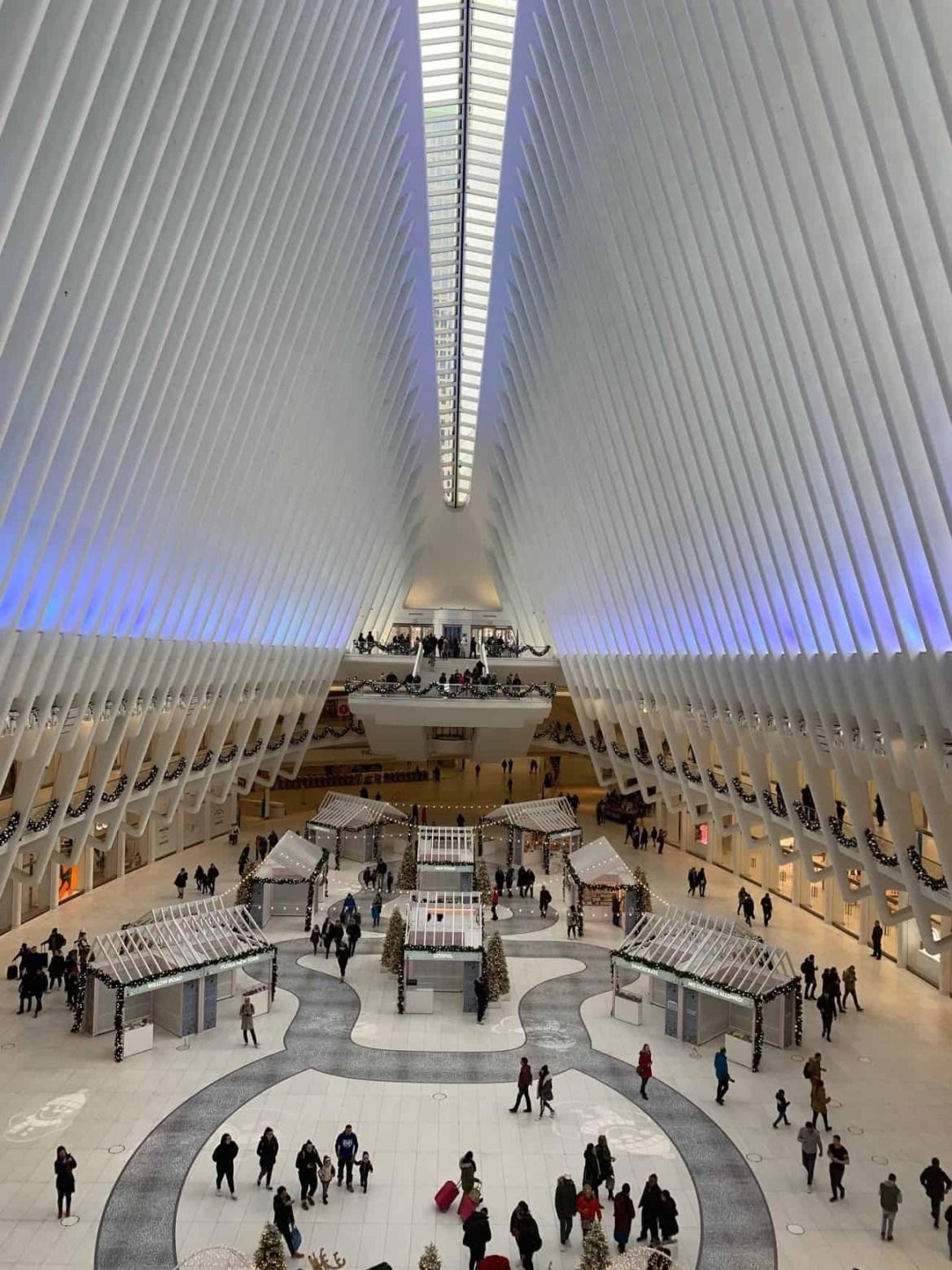Oculus Transit Hub World Trade Centre