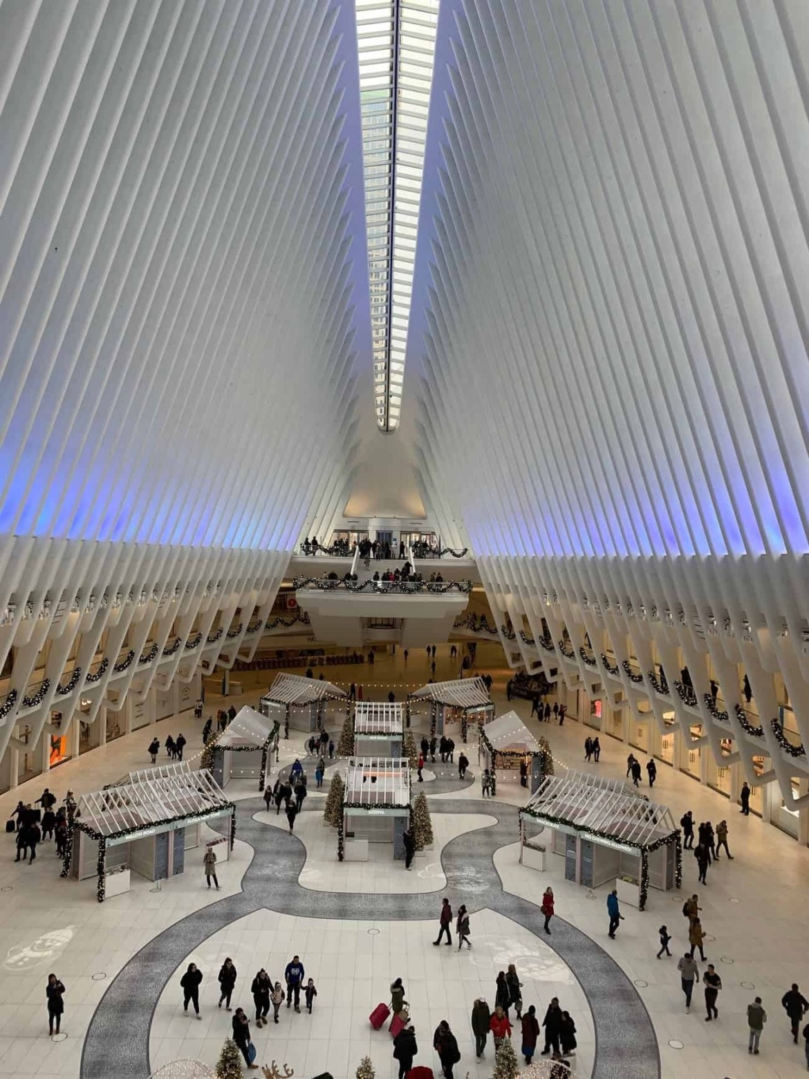 Oculus Transit Hub World Trade Centre