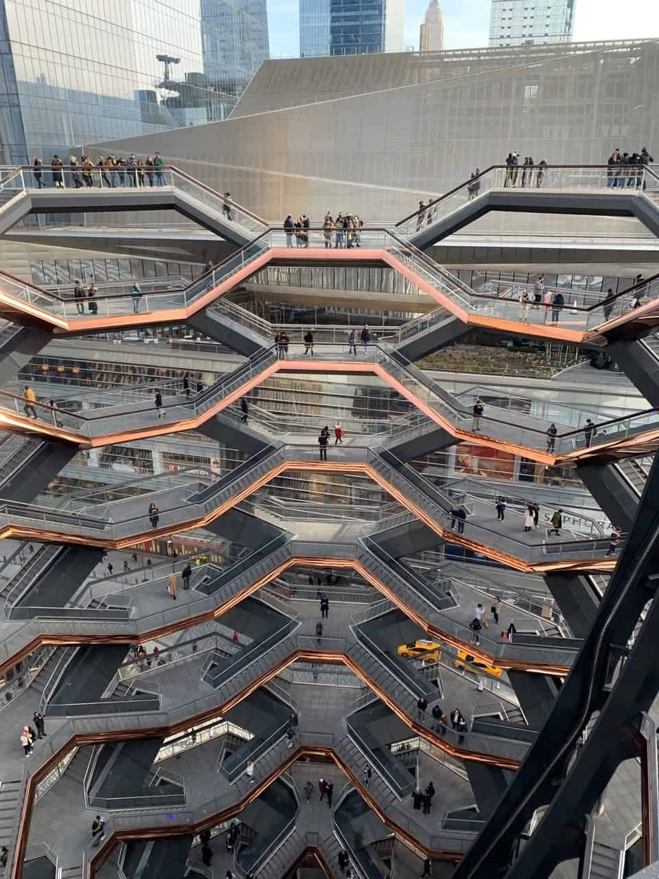 The Vessel in Hudson Yards New York