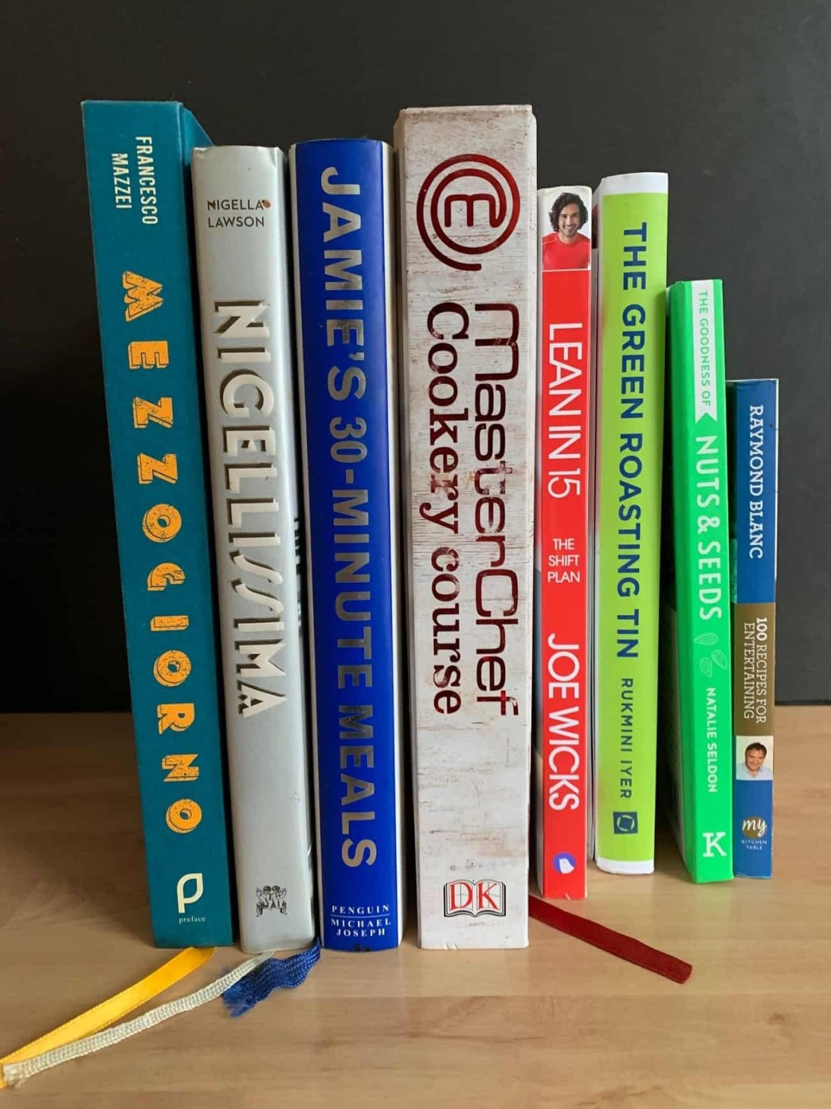 My cooking books