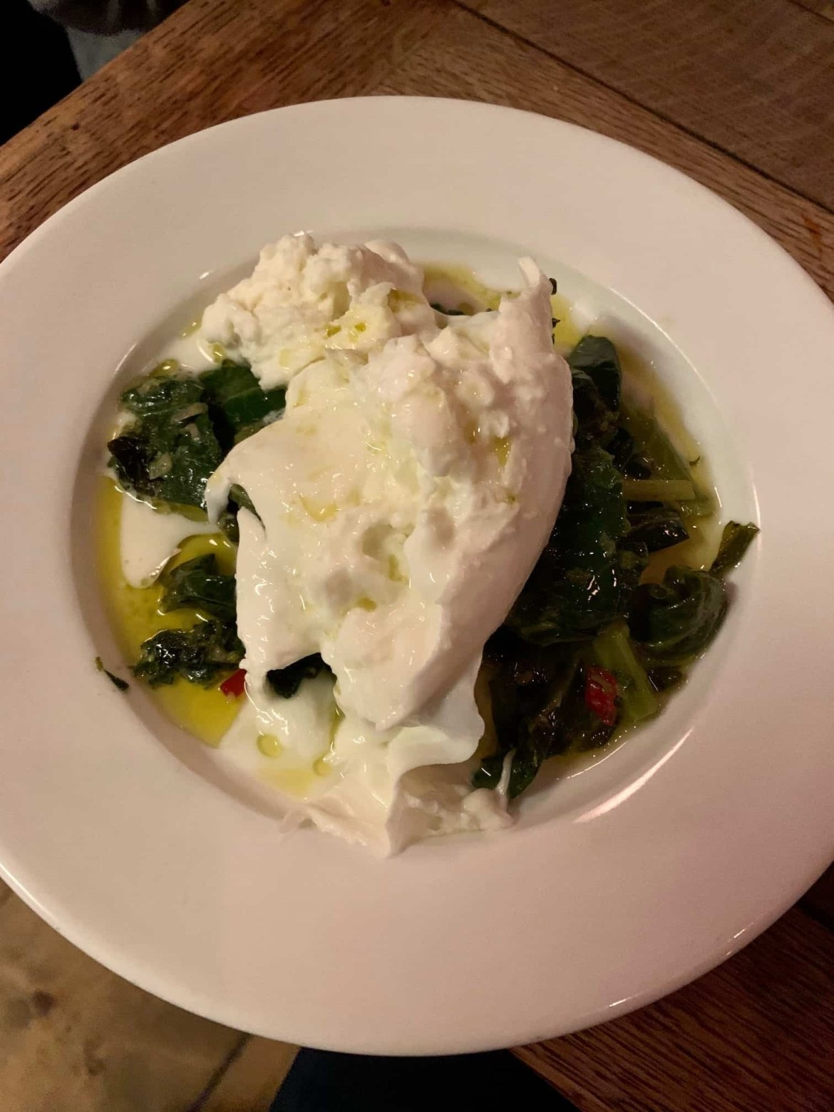 Buratta from Anchor and Hope