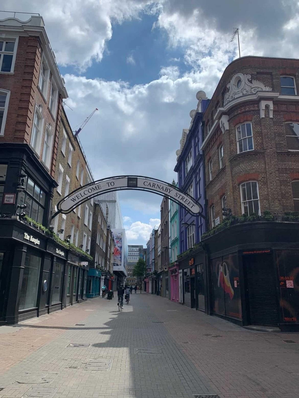 Carnaby Street empty