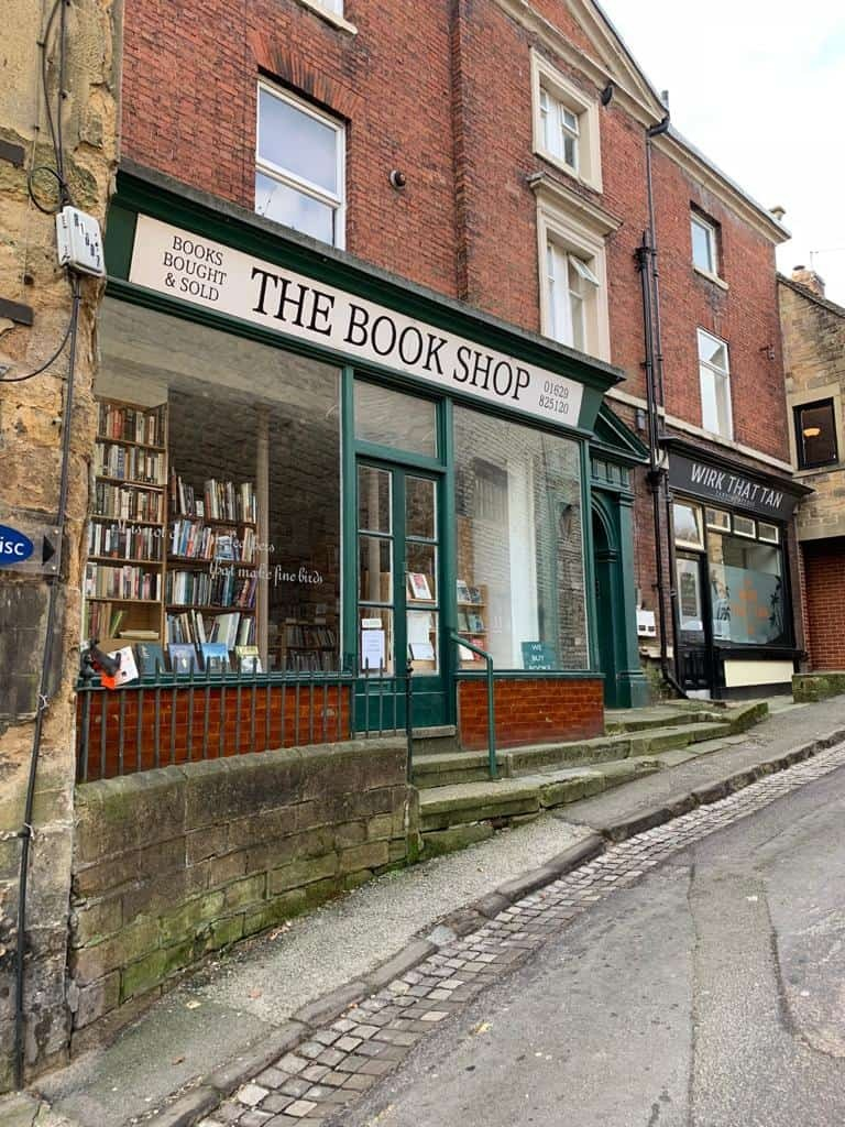 Book shop in Wirksworth