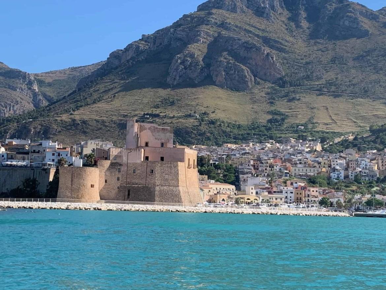 The castle fort in Castellammare del golfo