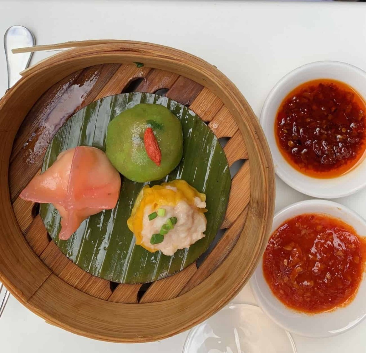Dim sum for Yauatcha in Soho