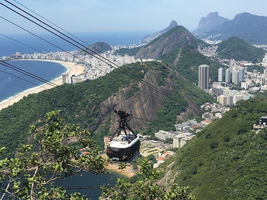 Rio cable car to Sugar Loaf Mountain