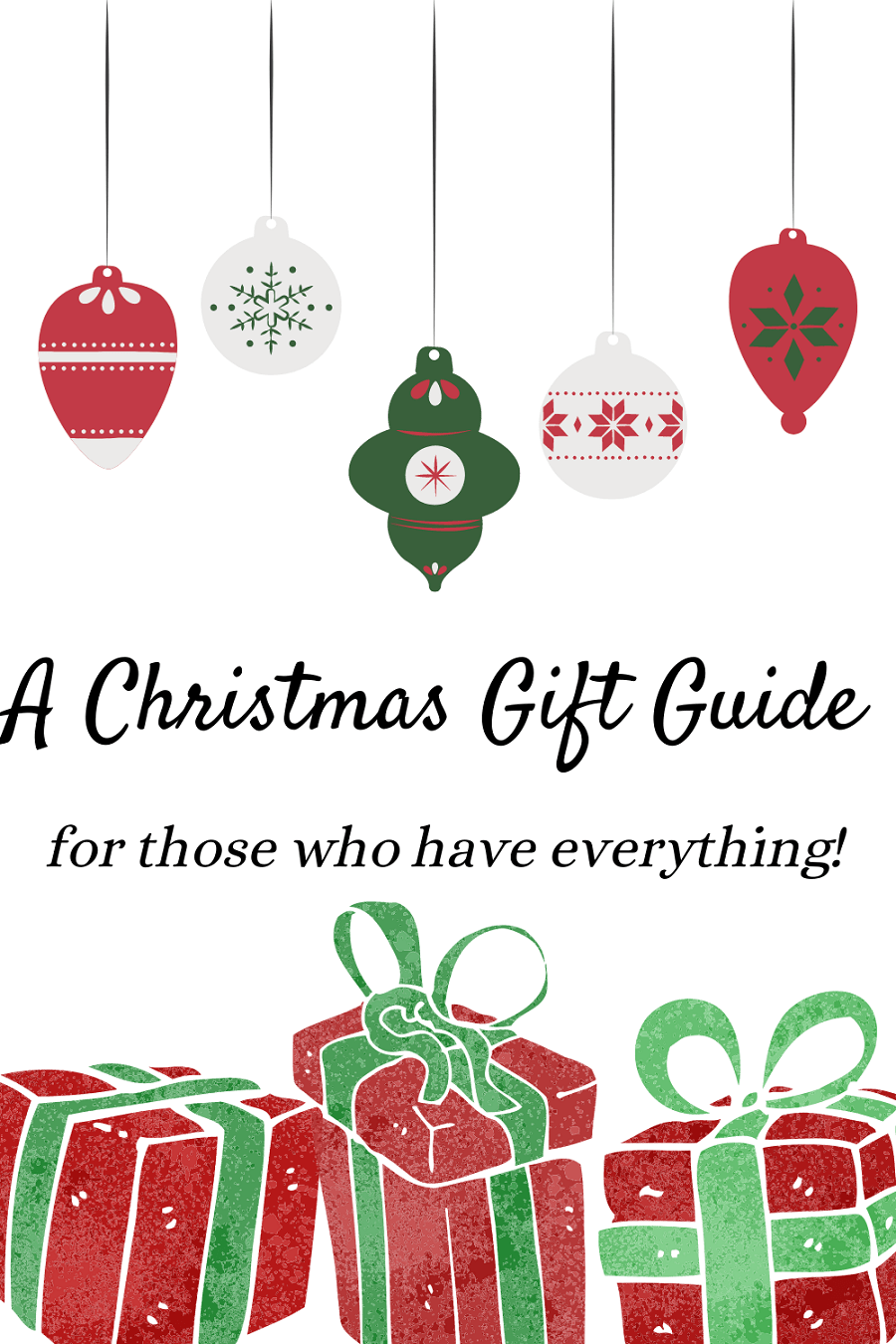 An alternative Christmas gift guide