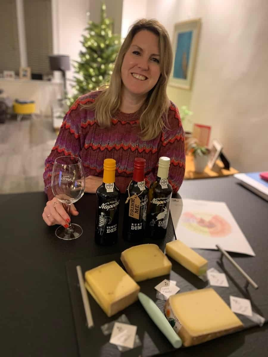 Virtual tasting event with Comte cheese and Niepoort Port