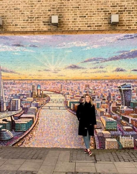 London mural by Jimmy C