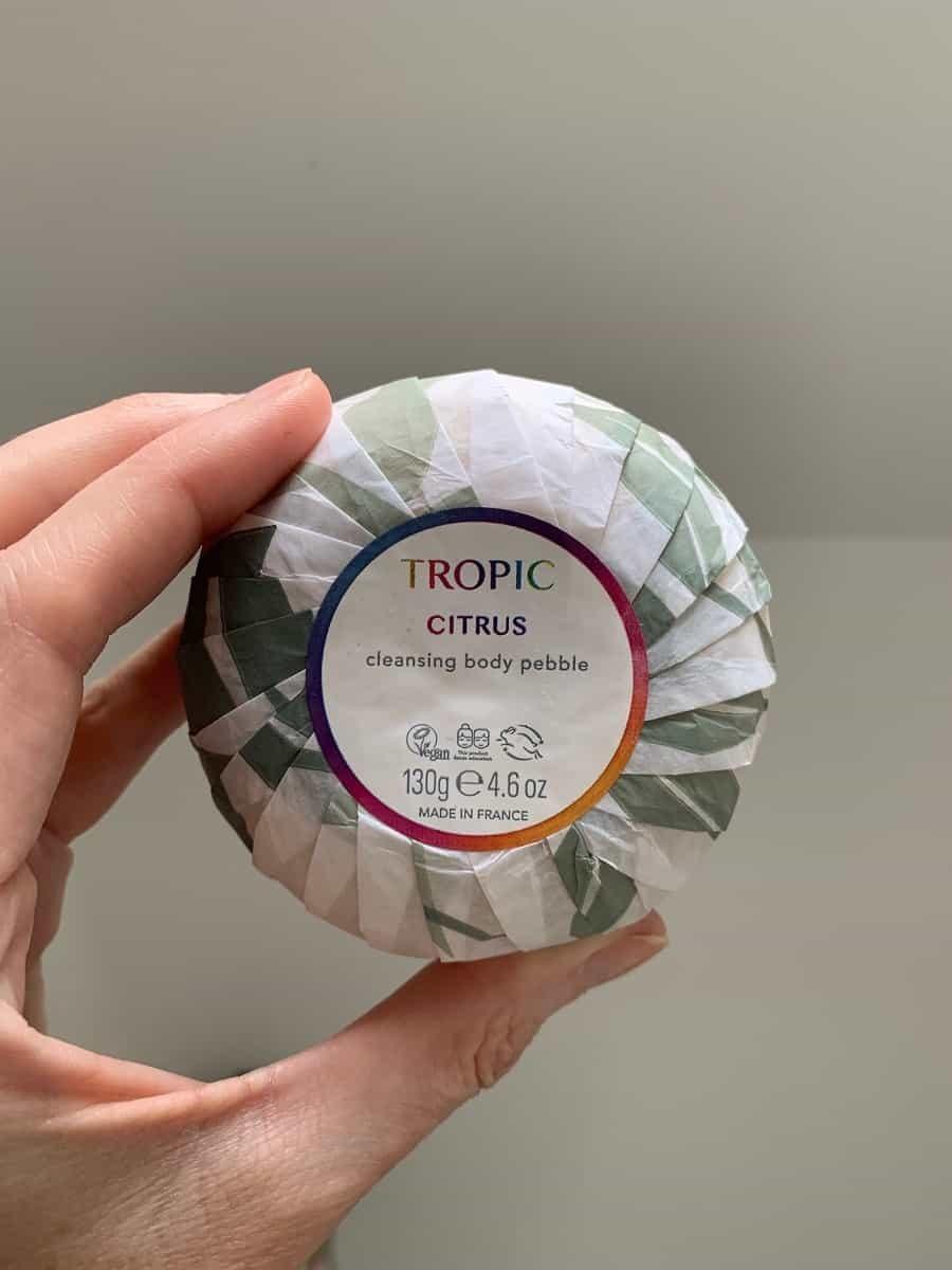 Tropic citrus cleansing body bar