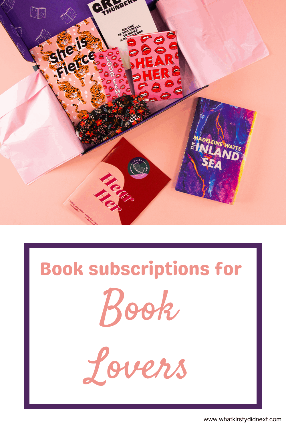 Book subscriptions for book lovers