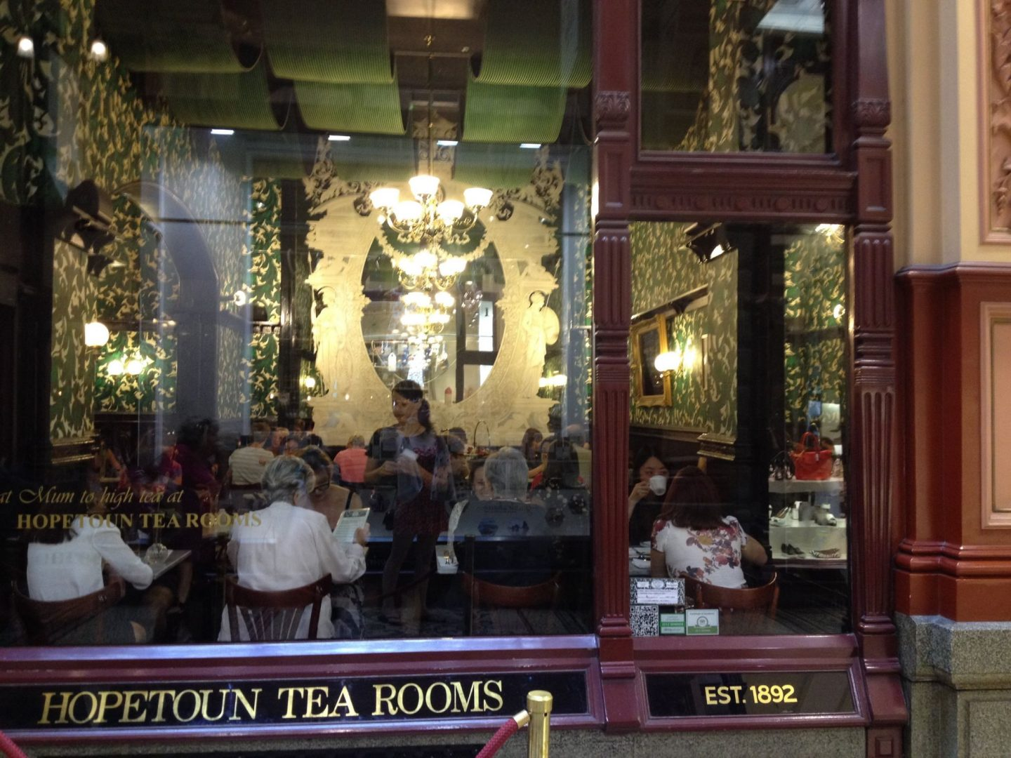 Hopetoun Tea Rooms, Melbourne