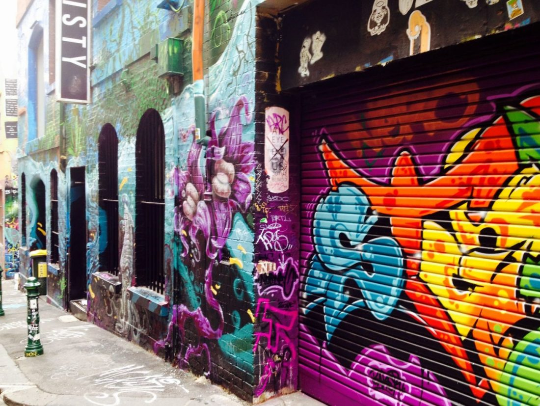Hosier Lane murals
