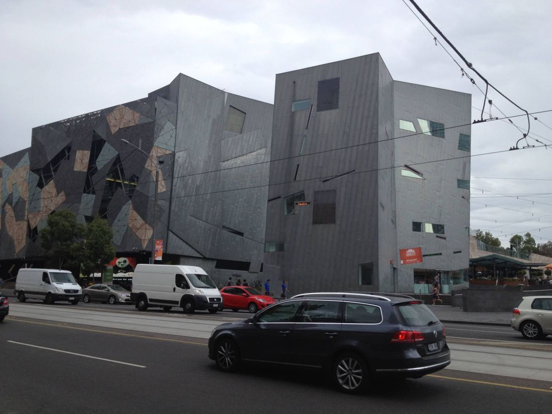 A Melbourne itinerary: Federation Square