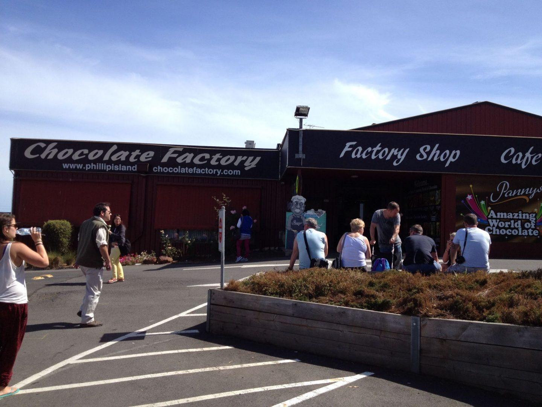 Panny's Chocolate Factory, Phillip Island