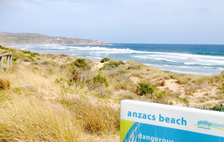 Anzacs Beach, Phillip Island