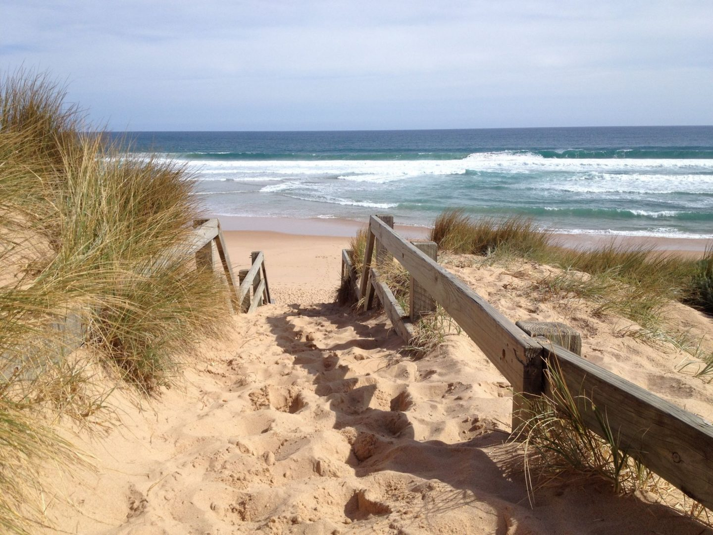 Stairway to Anzacs Beach