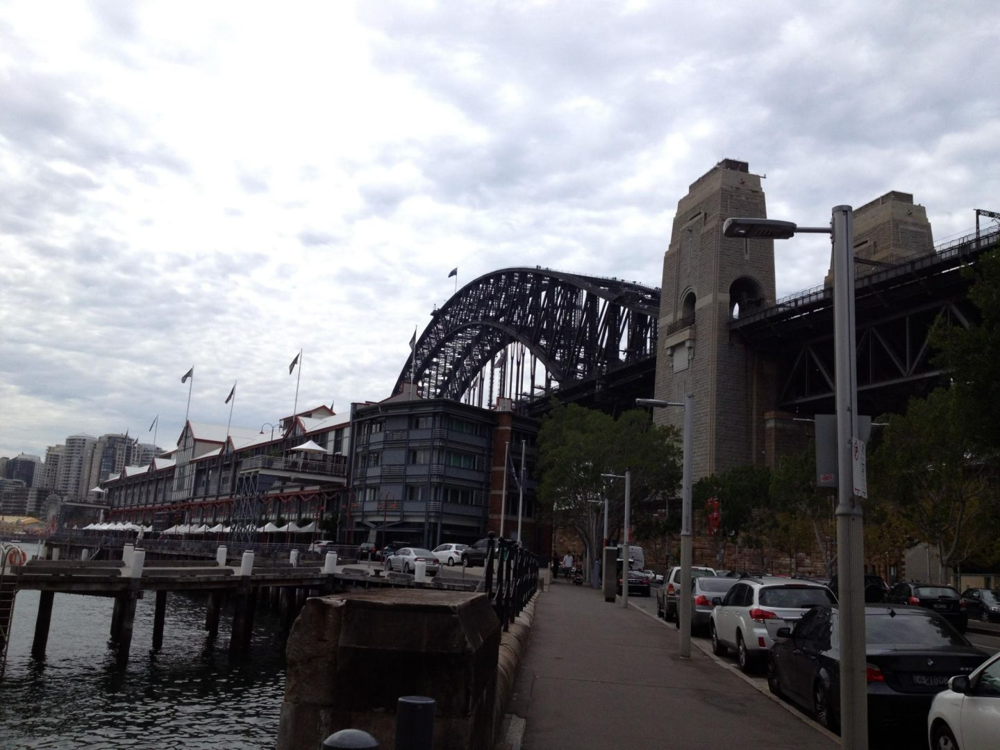 A view of Sydney Harbour Bridge
