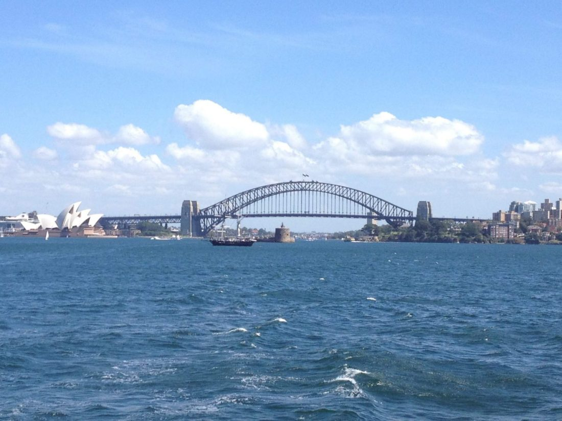 Sydney Harbour from Manly Ferry