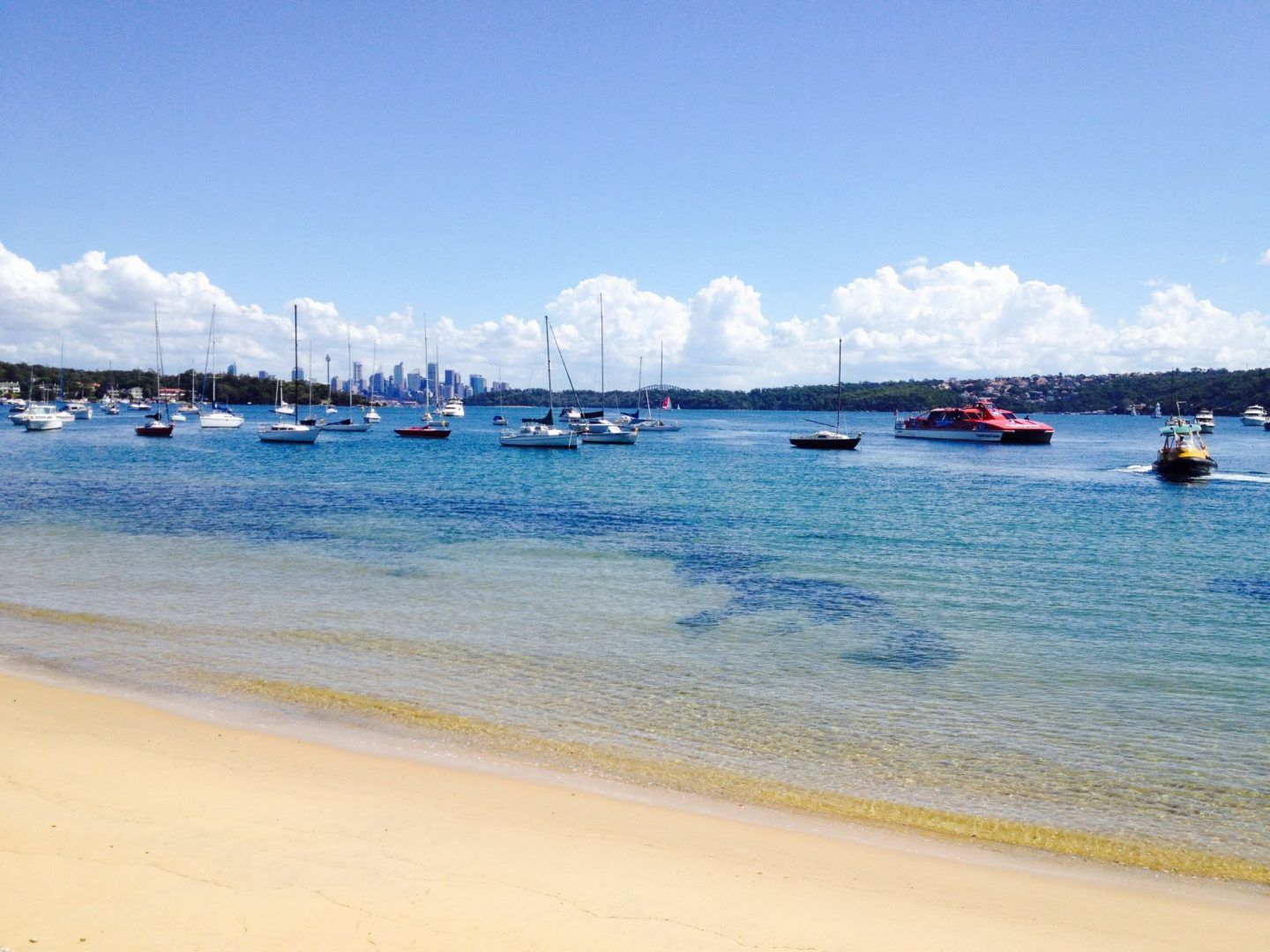View to Sydney from Watsons Bay