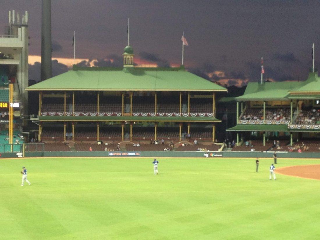 Baseball at Sydney Cricket Ground