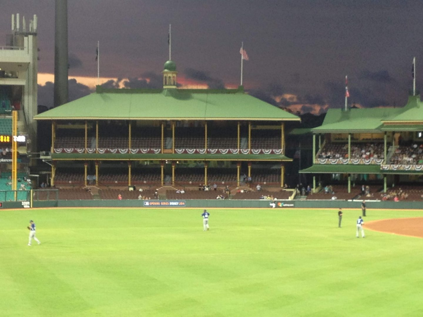 Baseball at Sydney Cricket Ground