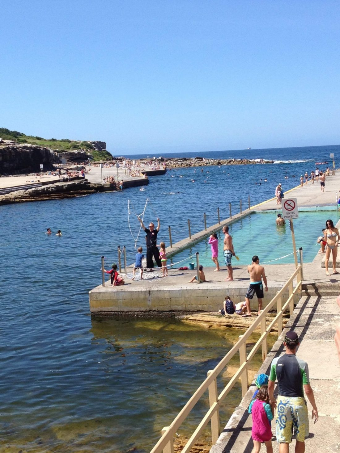 Clovelly swimming pool on the Bondi to Coogee Walk, Sydney