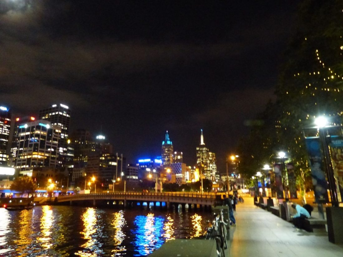 Along Melbourne's Yarra River