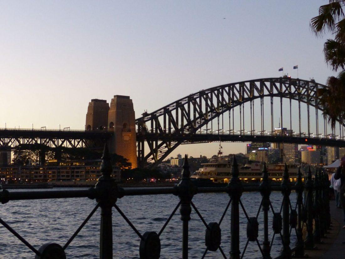 Harbour Bridge in the evening