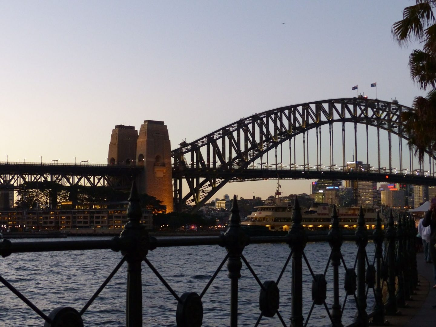Harbour Bridge in the evening