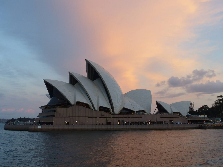 Sydney Opera House at sunset