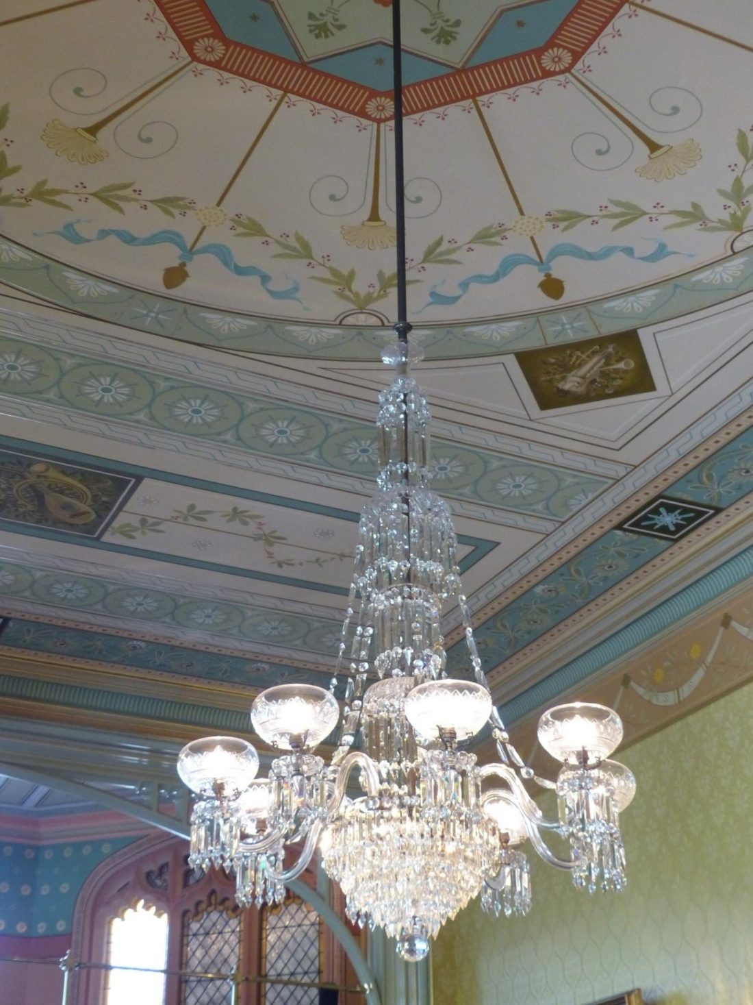 Chandeliers of Government House, Sydney