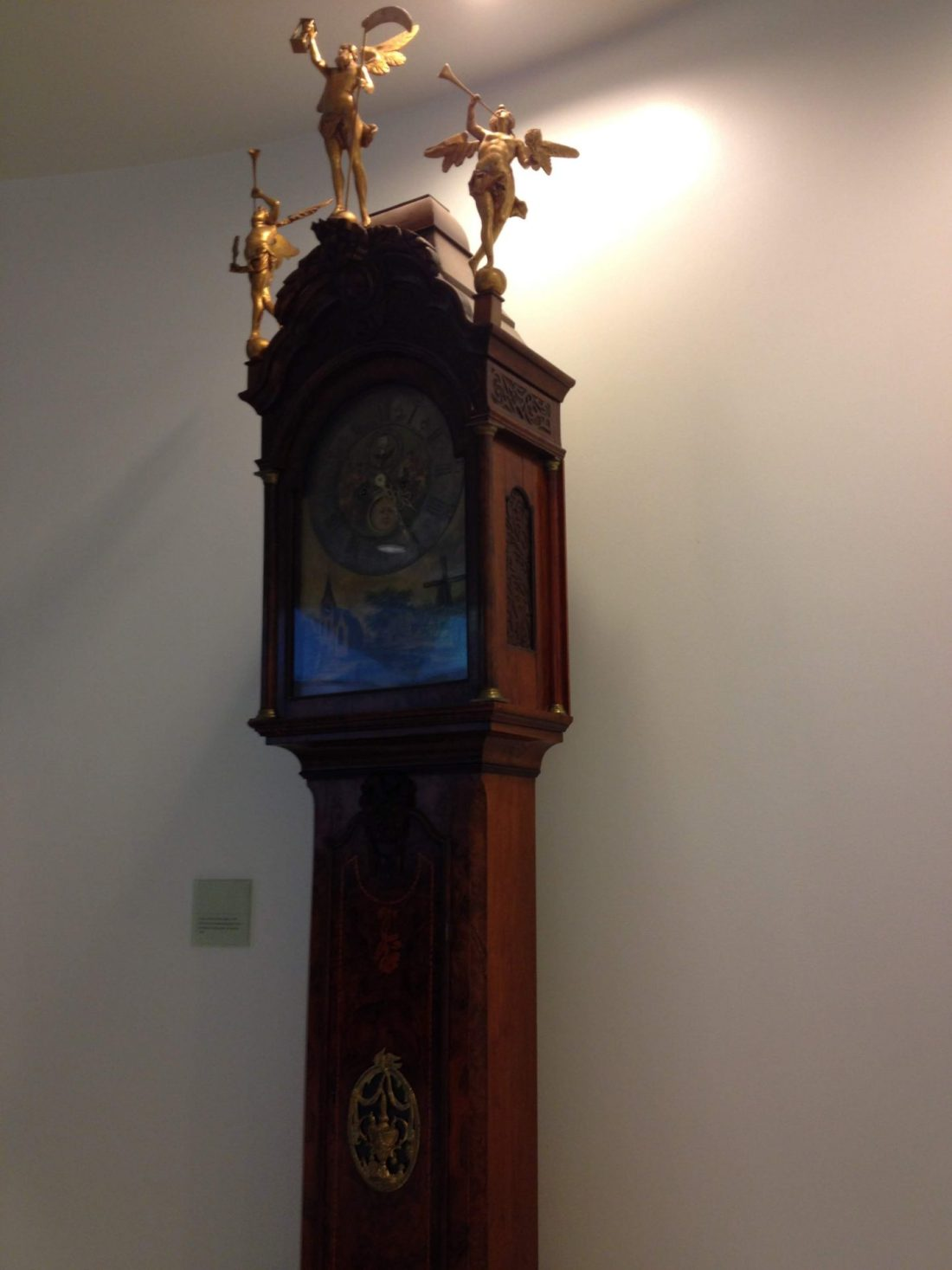 Grandfather clock in the Australian Parliament House, Canberra