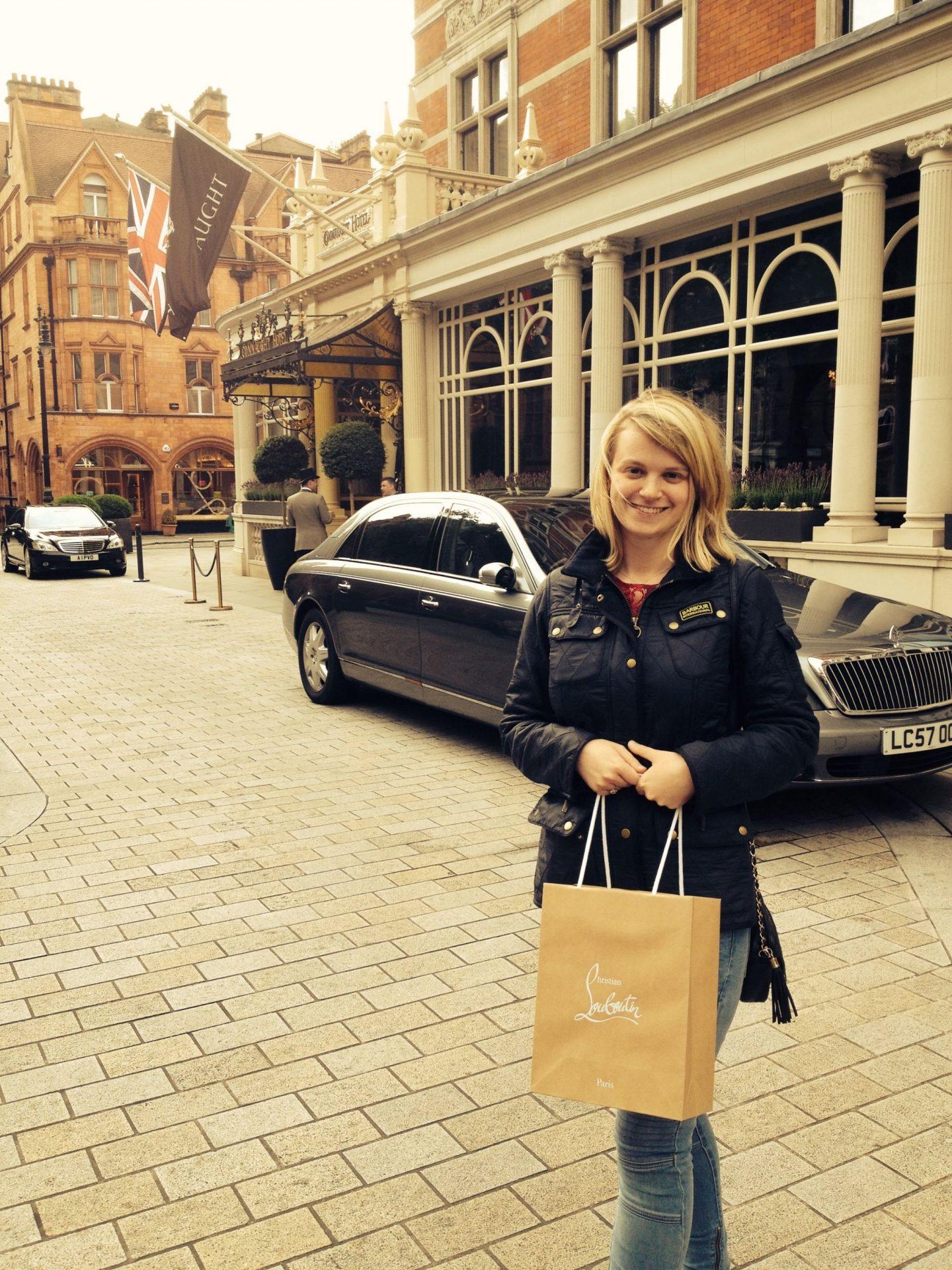 Buying Louboutins in London