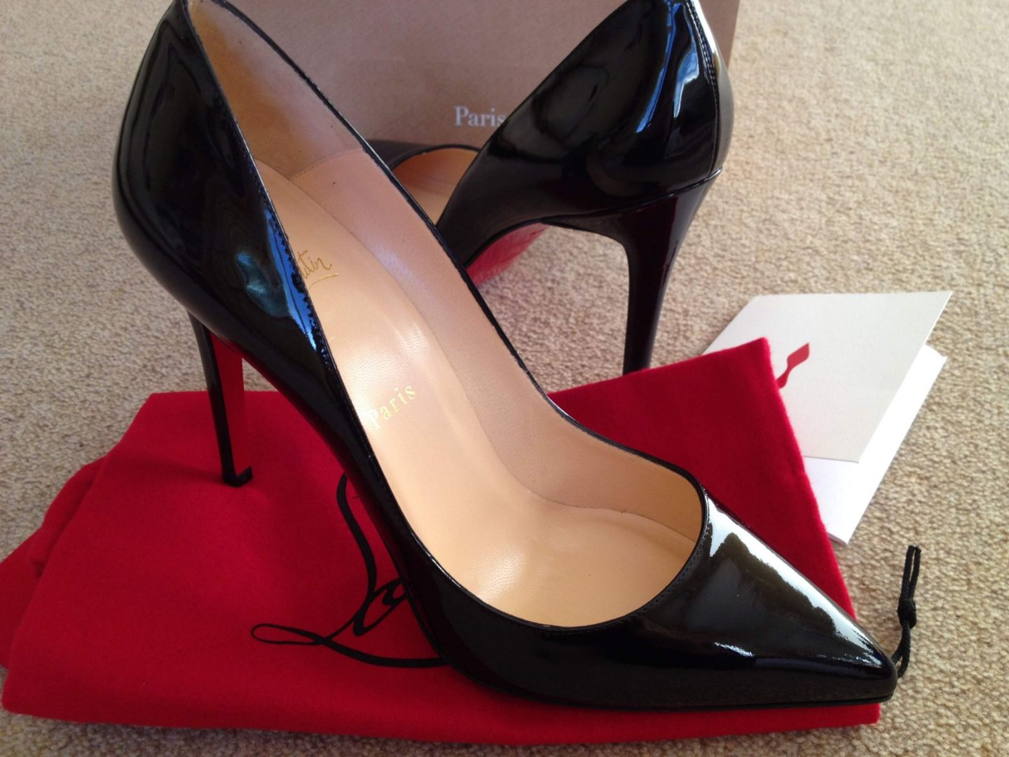 Buying Louboutins: Pigalle 100