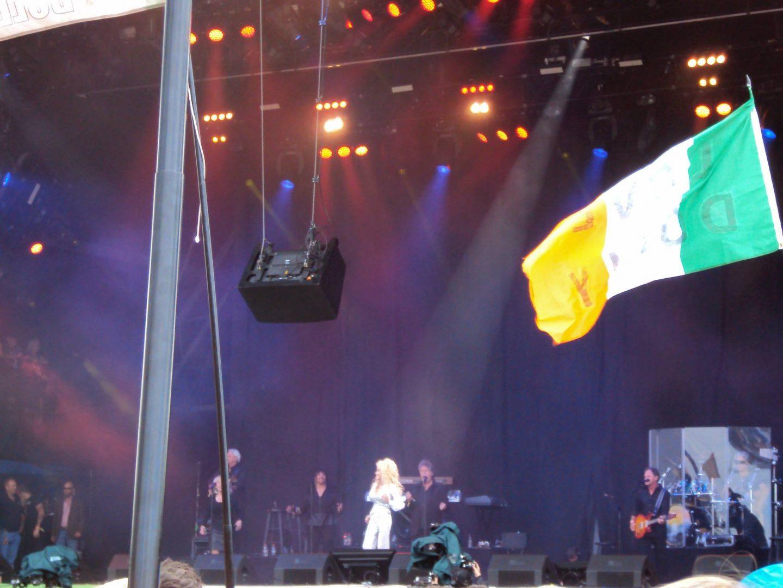 Dolly Parton at Glastonbury Festival