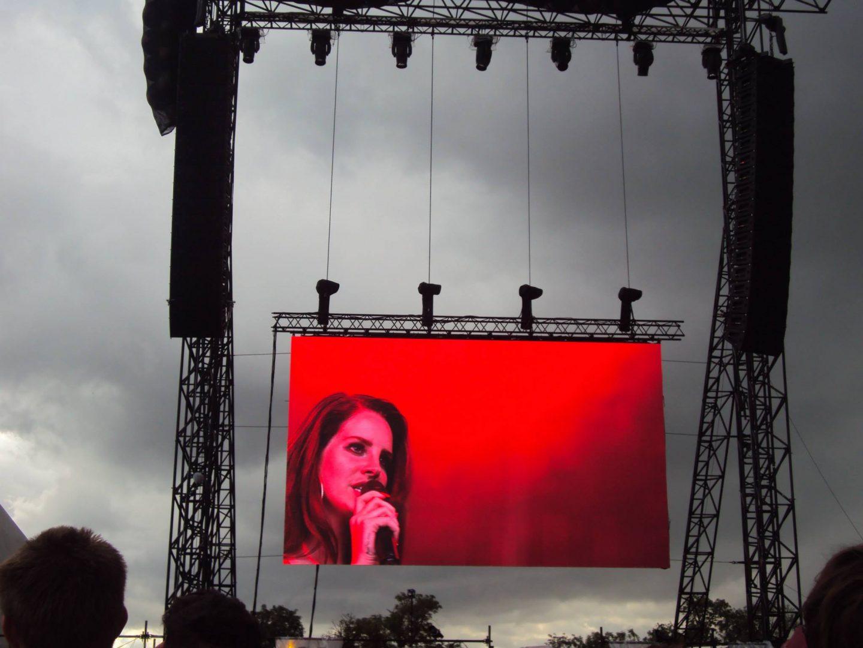 Lana del Rey at Glastonbury Festival