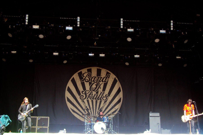 Band of Skulls at Glastonbury