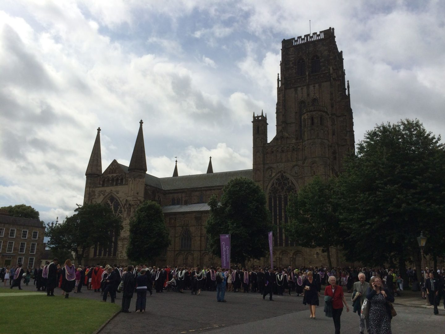 Durham Graduation at the Cathedral