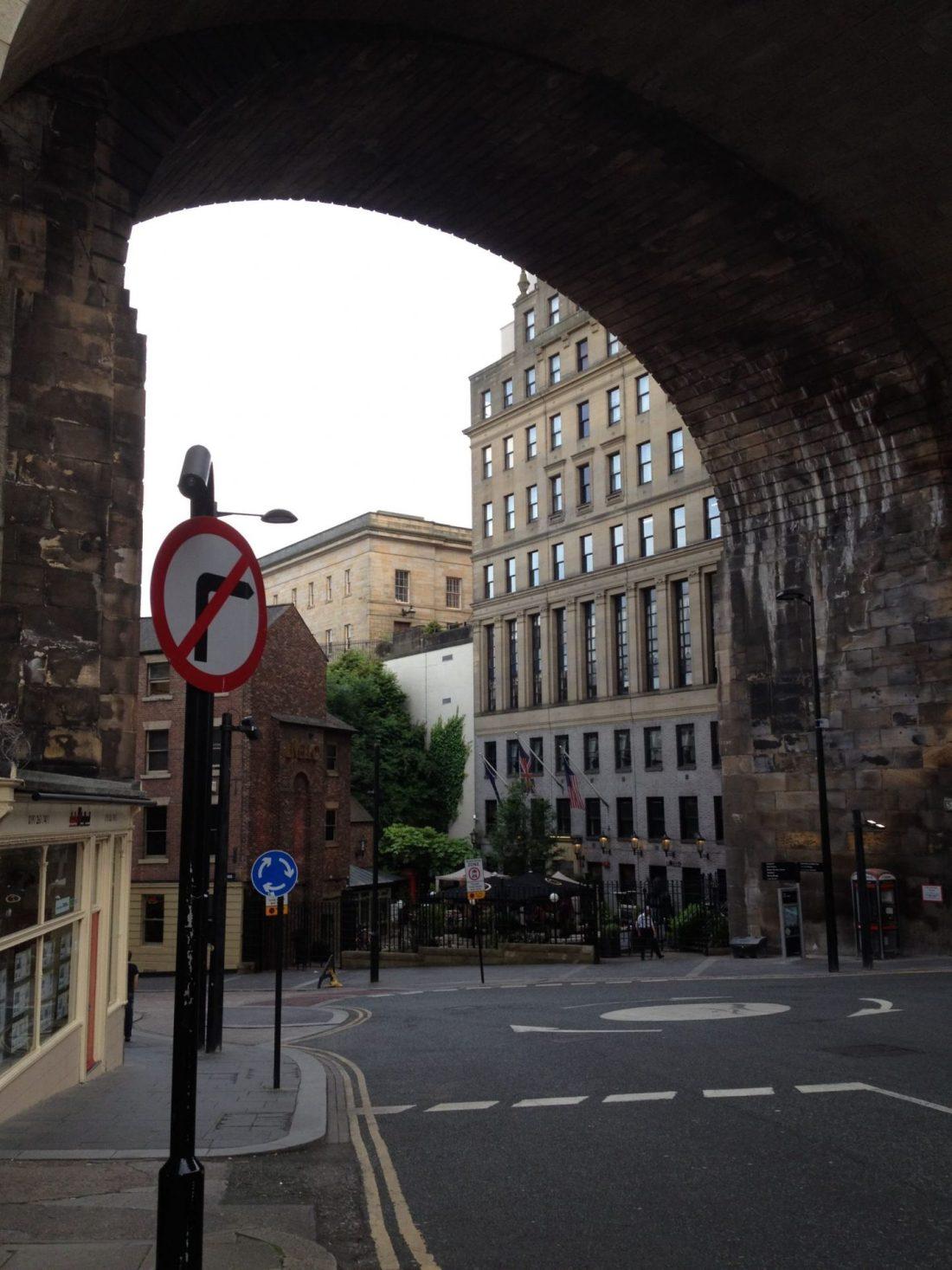 Viaduct of Newcastle, UK