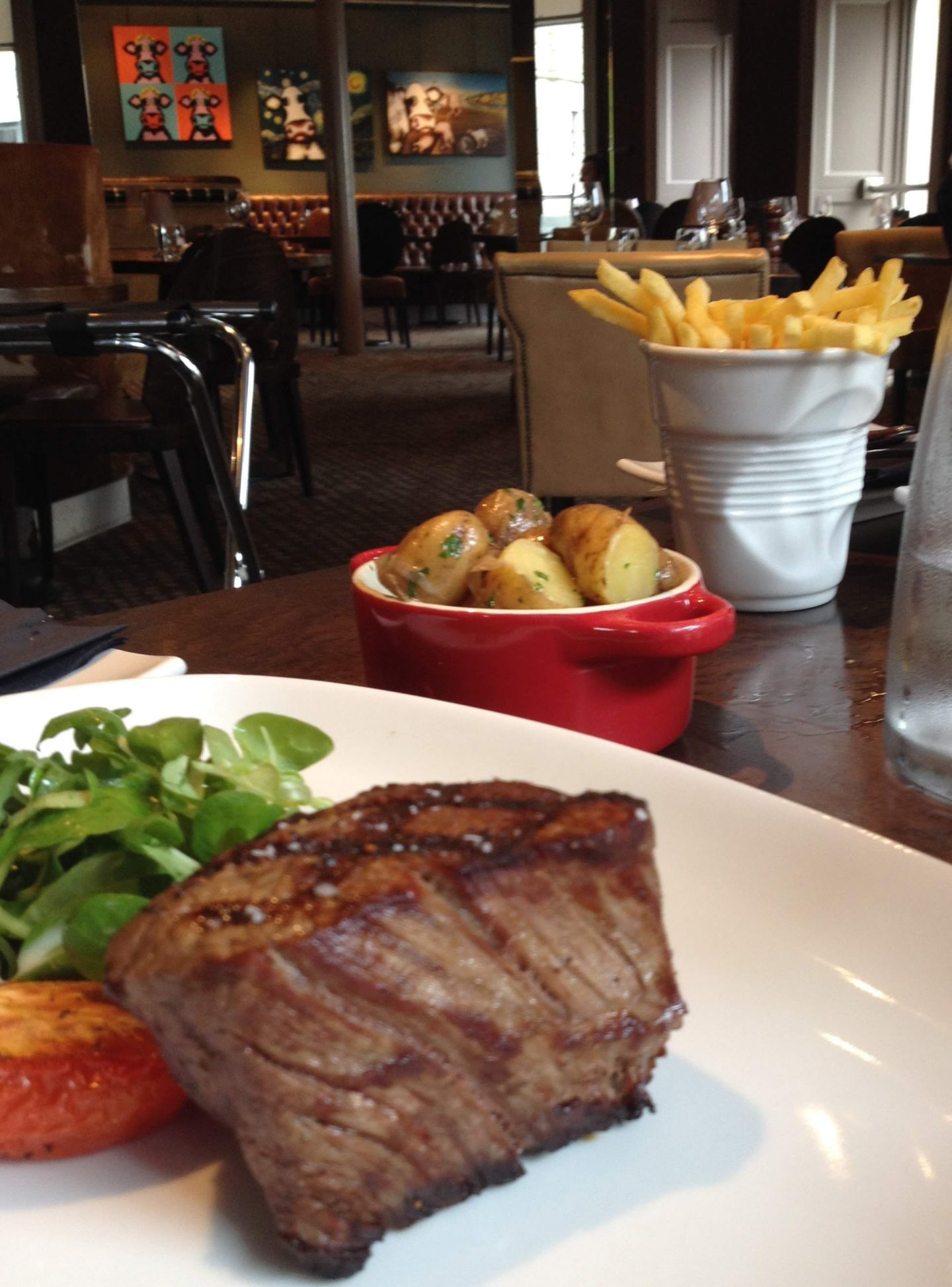 Fillet steak at Kyloe