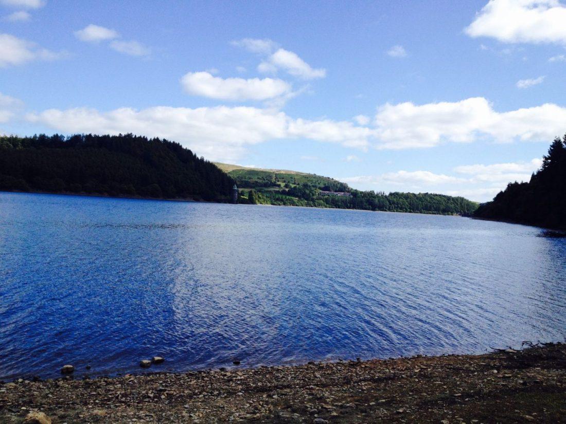 Views of Lake Vyrnwy, Wales
