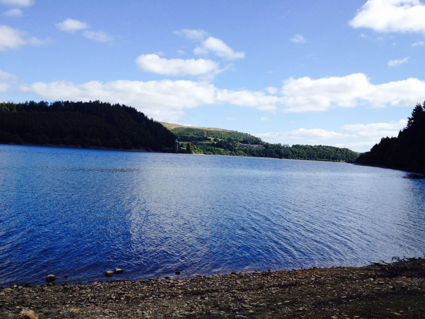 Views of Lake Vyrnwy, Wales