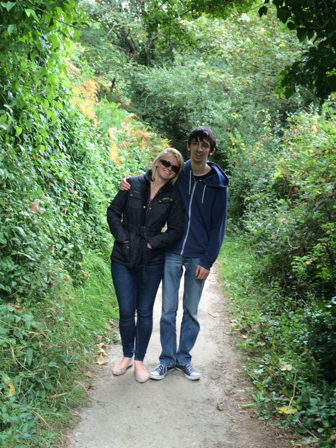 Walking to St Ives, Cornwall