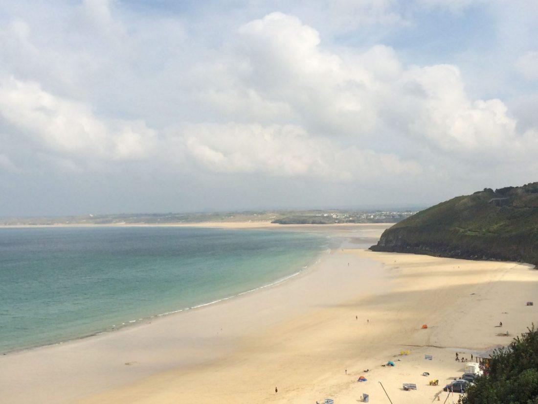 Views across Carbis Bay Beach, Cornwall