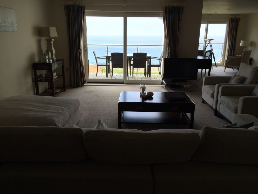 Apartment with views over Carbis Bay, Cornwall